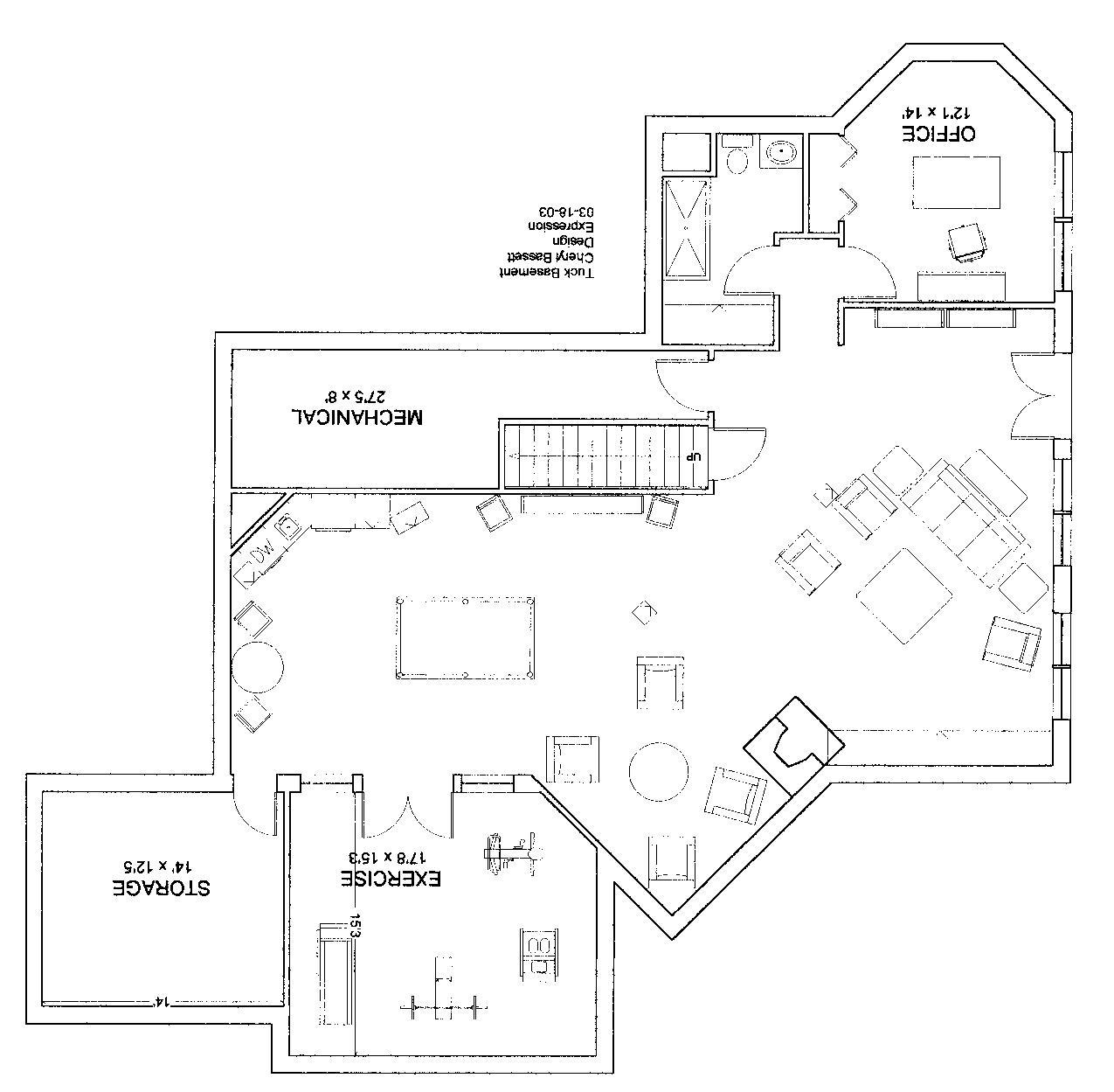 Custom Designed Residential Floor Plan