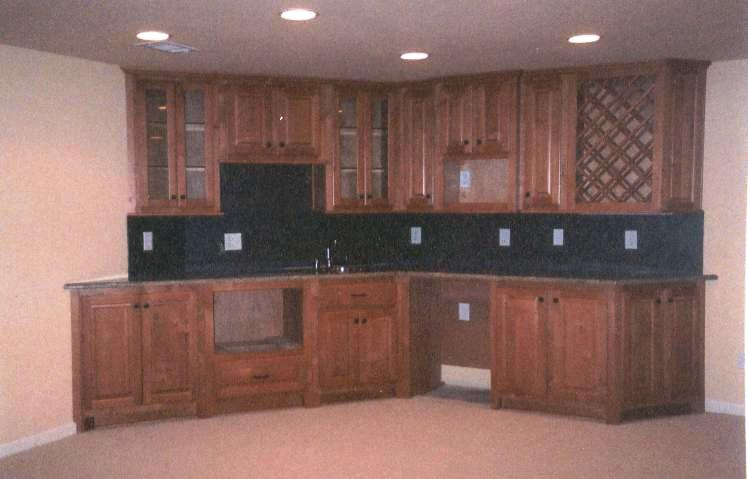 Game Area Wet Bar -Post Construction Phase