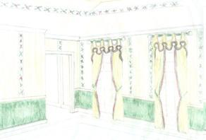 Preliminary Sketch Dining Room