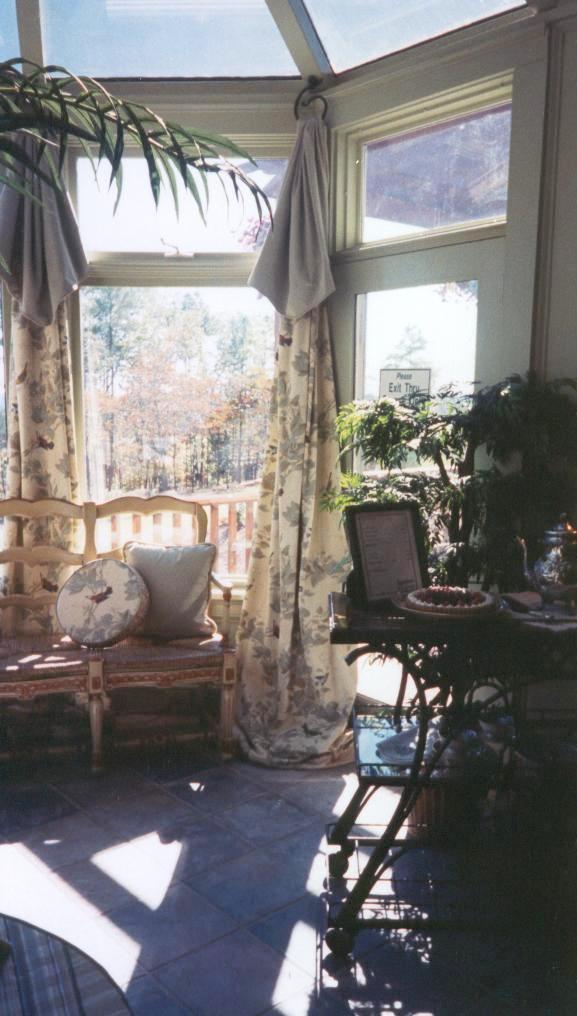 Elegant Sunroom Accent