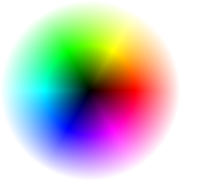 Interactive Color Wheel. Click on image above, and explore color shades, hues, and tints.