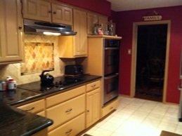 Transitional kitchen.